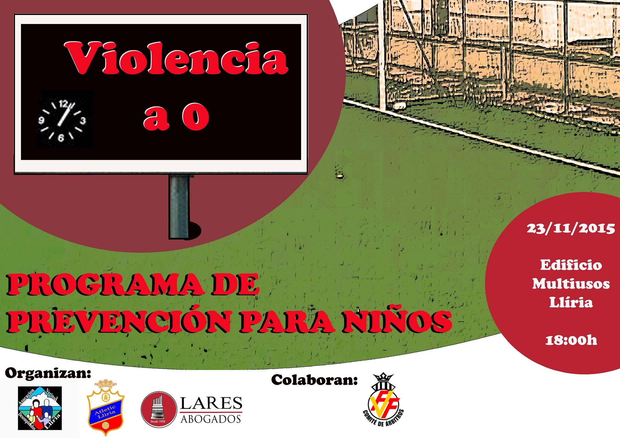 Charlas De Lares Abogados En Llíria Contra La Violencia En El Fútbol Base