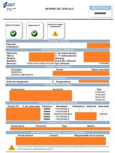 Informe Vehículo DGT - LARES ABOGADOS