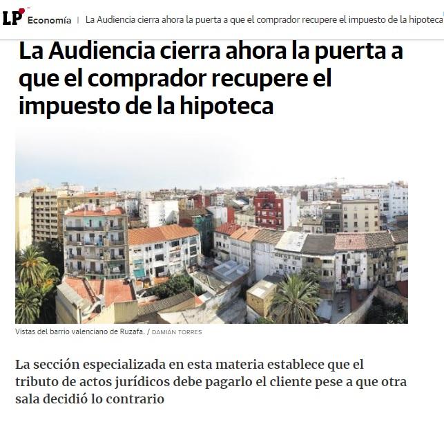 ABOGADOS LARES - SENTENCIAS GASTOS DE HIPOTECA